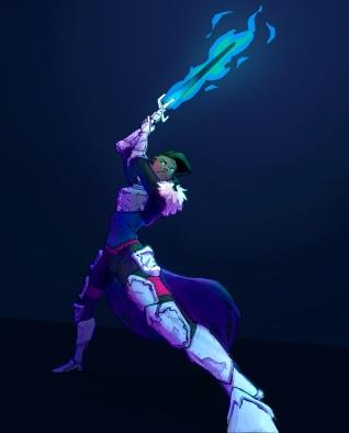 Ward el swordswoman