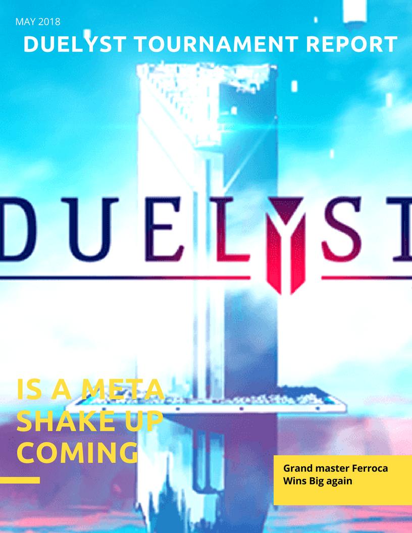 Duelyst Tournament Report (2)