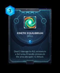 Kinetic Equilibrium